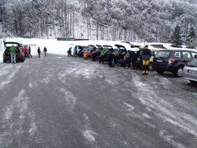 Rekord: 17 TeilnehmerInnen mit 13 Autos!