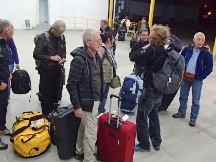 Ankunft in Simferopol