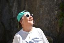 Gerda freut sich