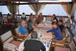 Open Air Restaurant direkt am Meer, was will man mehr...