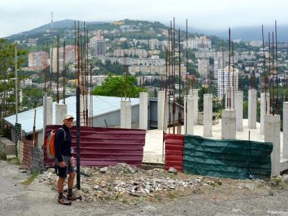 Franz gefallen die vielen halbfertigen Baustellen
