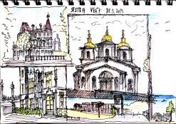 Postkarte Sightseeing Jalta