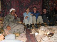 im Camp mit Difallah