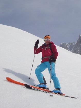 1-Abfahrt vom Oberalpstock über den Bächenfirn
